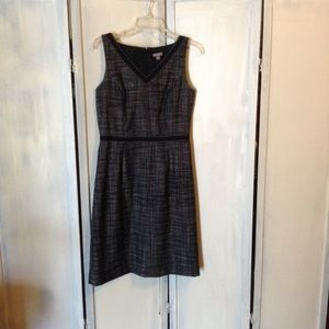 Ann Taylor V Neck Black Dress Mini